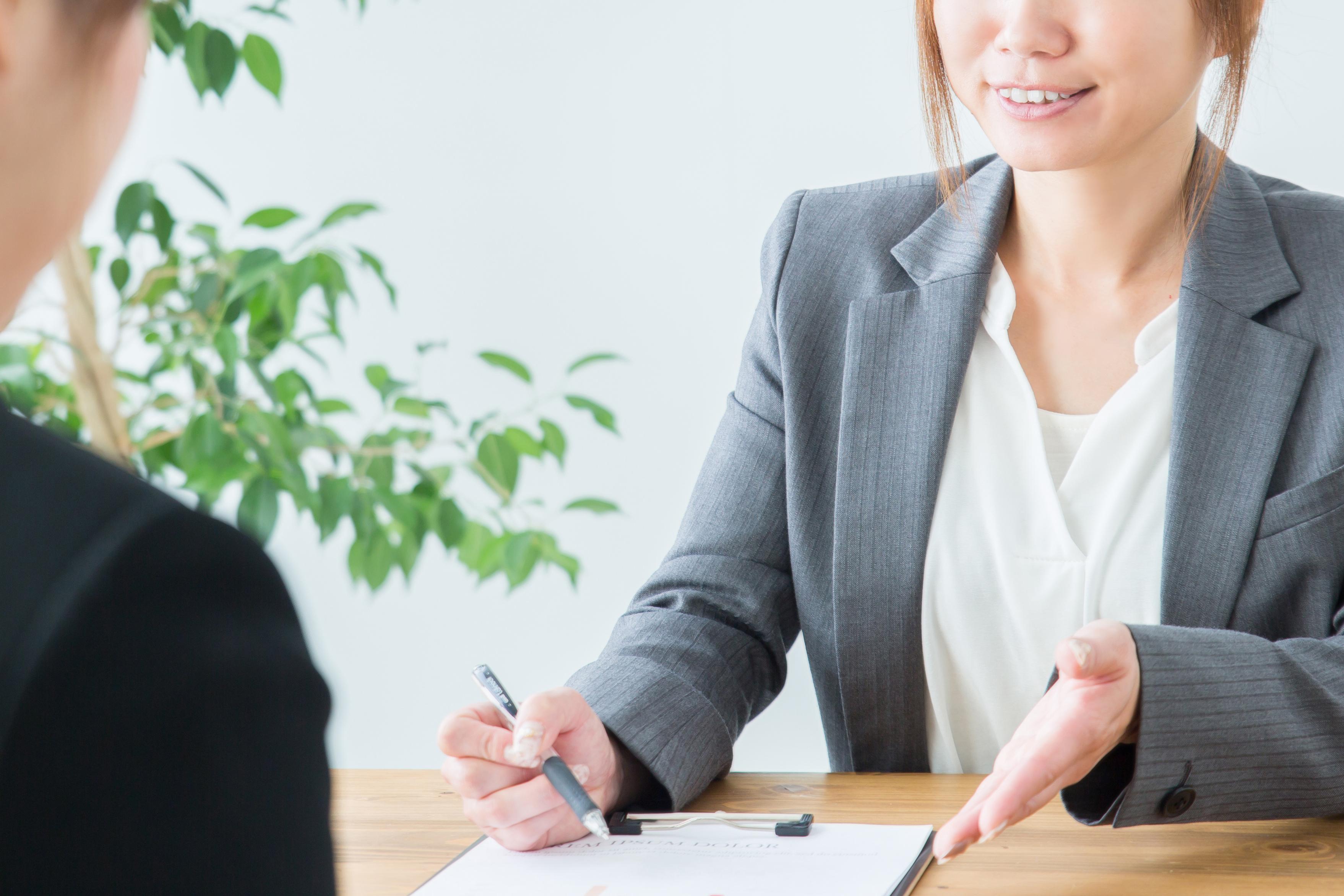 未経験でも女性スタッフによる安心のサポート体制