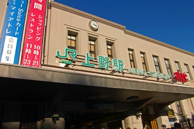 上野駅周辺エリアの出張ホテル一覧